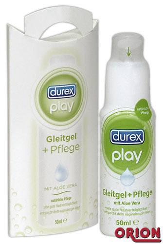 Image of   Durex Play - Glidecreme m. Aloe Vera til følsom hud 50 ml.