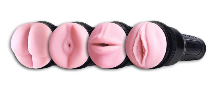 fleshlight forskellige typer: numse, røv, mund, fisse